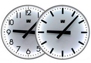 Analoge ur med LED belysning - Innendørs og utendørs bruk