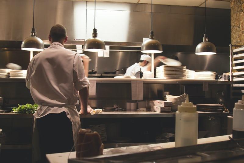 Bransjeløsning cafe og restaurant timeregistrering